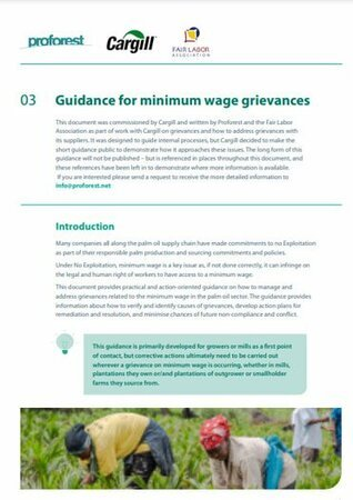 03 Guidance for Minimum Wage grievances