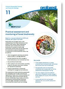 Practical assessment and monitoring of forest biodiversity