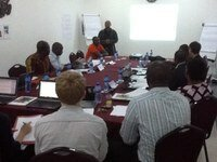 Inaugural meeting for Africa Practitioners' Network