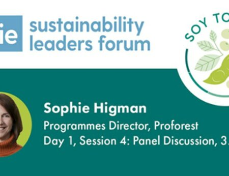 Find out about the Soy Toolkit at the Edie Sustainability Leaders Forum, London, 4-5 Feb 2020