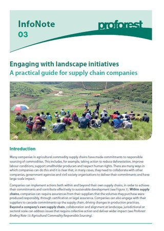 03 Engaging with Landscape Initiatives