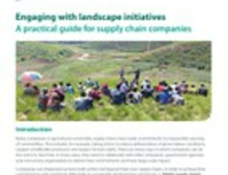 Engaging with Landscape Initiatives